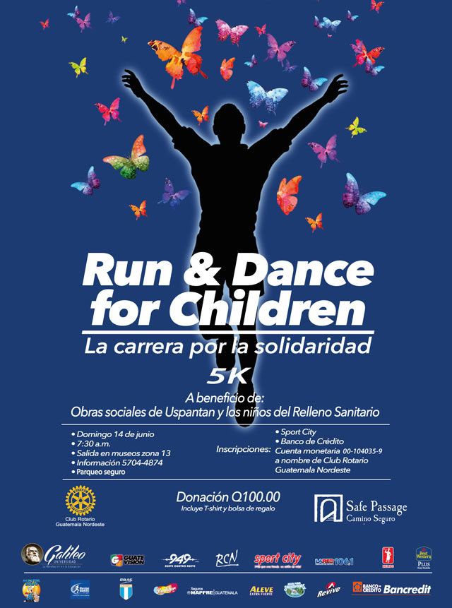 Imagen: Run and Dance for Children, la carrera por la solidaridad