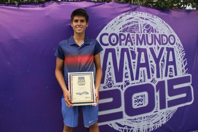Imagen: Guatemalteco se corona campeón en Copa Mundo Maya 2015