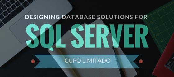 Imagen: Curso libre Designing Database Solutions