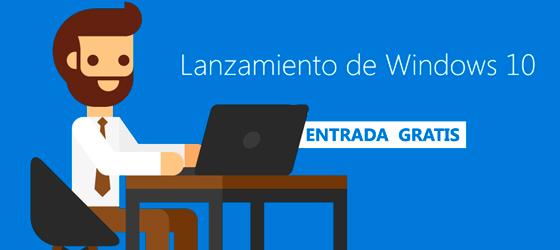 Imagen: Lanzamiento de Windows 10