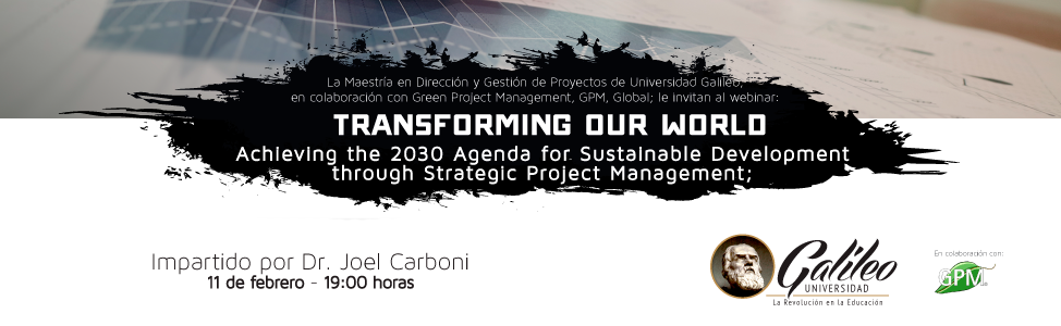 Imagen: Transforming our world (webinar)