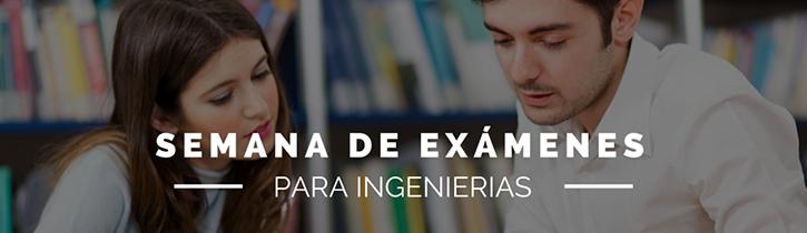 Imagen: Semana de Exámenes Ingenierias