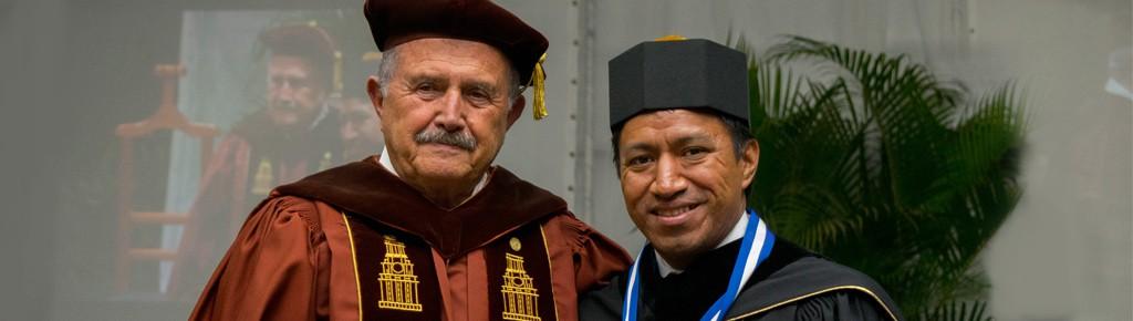 Imagen: Universidad Galileo otorga doctorado Honoris Causa a Marcos Andrés Antil