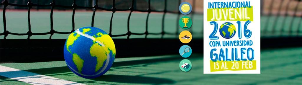 Imagen: Copa Universidad Galileo 2016 semillero de talentos del tenis