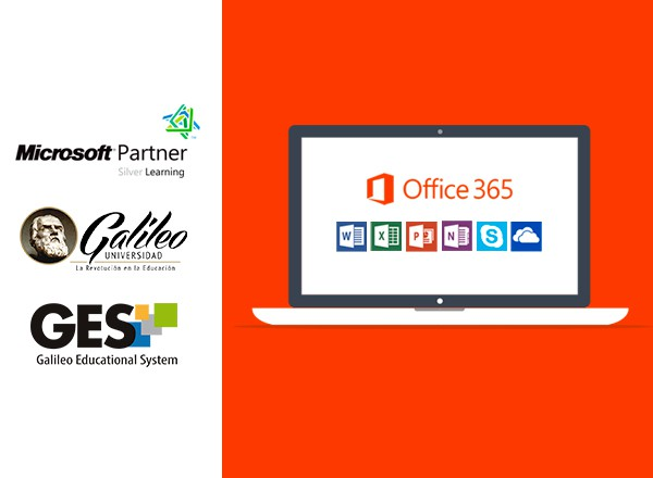 Imagen: U Galileo y Microsoft ofrecen suscripción gratuita de Office 365 para