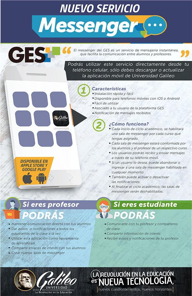 Imagen: GES Messenger primer APP de mensajería en Latinoamérica integrada a