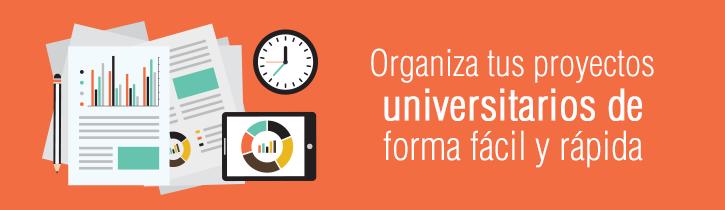 Imagen: Organiza tus proyectos universitarios de forma fácil y rápida