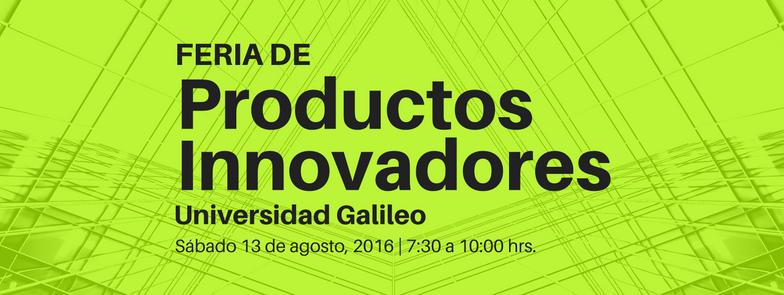 Imagen: Feria de Productos Innovadores