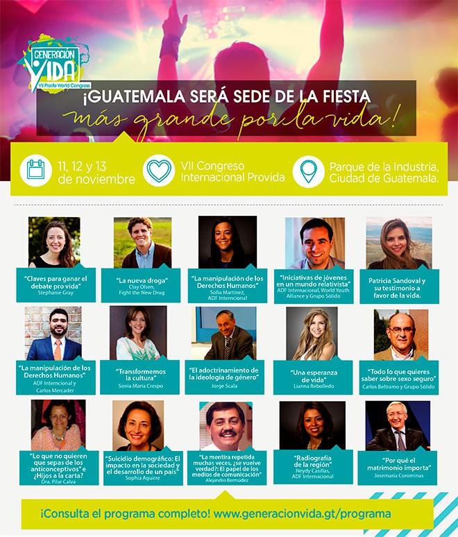 Imagen: VII Congreso Internacional Provida 2016