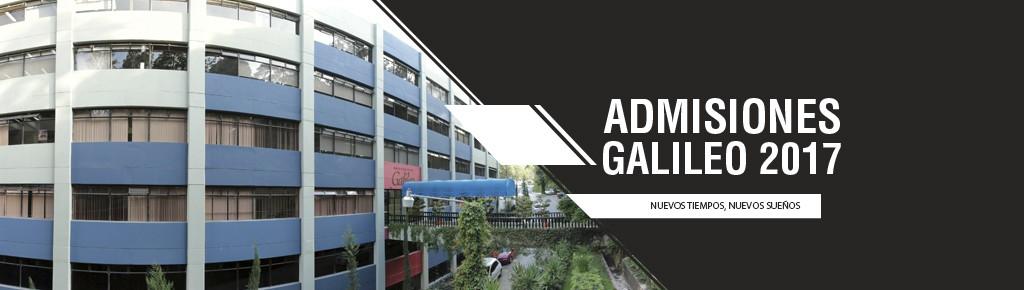 Imagen: Admisiones 2017 Universidad Galileo