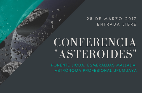Imagen: Conferencia sobre Asteroides