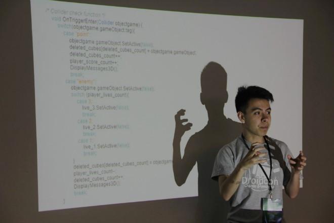 Imagen: Estudiante de Ingeniería en Sistemas participa como Speaker en Droidcon 2017