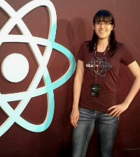 Imagen: Estudiante participa en React Conf exclusiva conferencia de Facebook