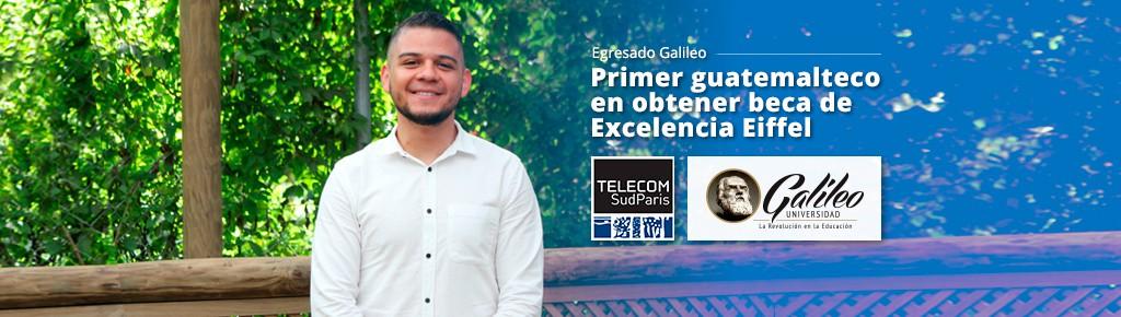 Imagen: Egresado de U Galileo, primer guatemalteco en obtener beca de