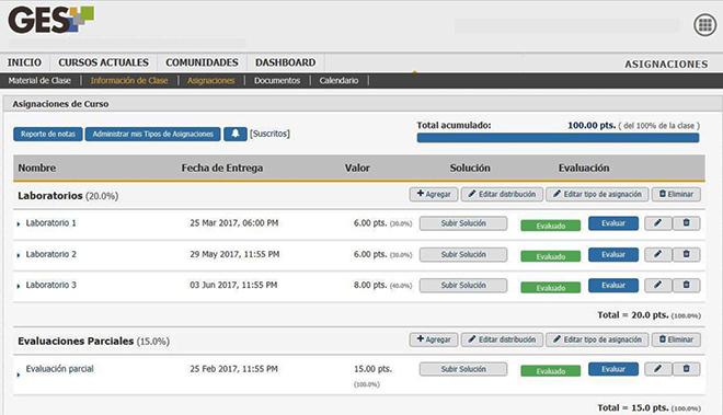 Imagen: Conoce la nueva Visualización de Asignaciones y Evaluaciones en el GES