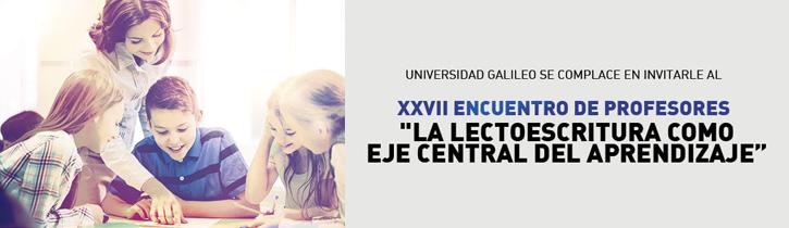 Imagen: XXVII Encuentro de Profesores