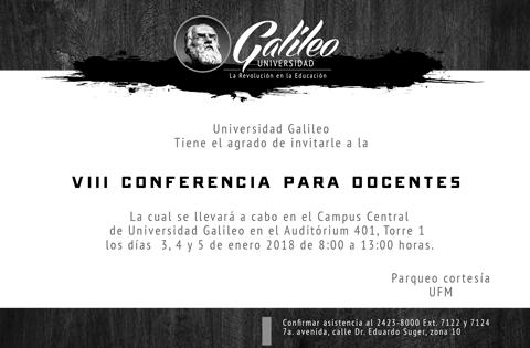 Imagen: 8 Conferencia para Docentes