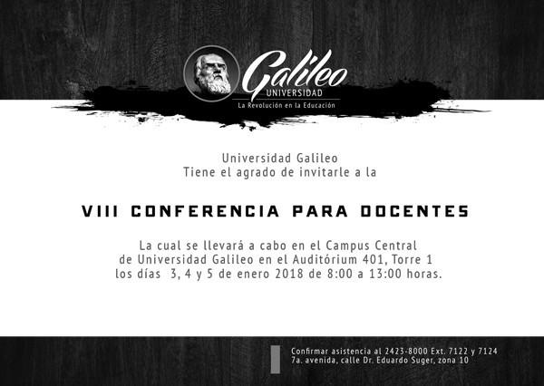 Imagen: VIII Conferencia para Docentes