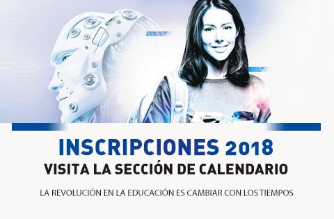 Imagen: Inscripciones 2018