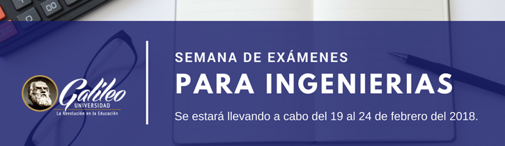 Imagen: Semana de Exámenes para Ingenierias