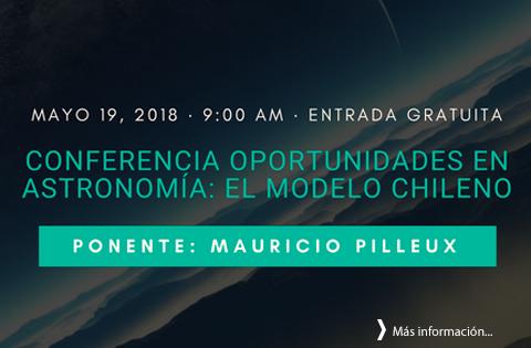 Imagen: Conferencia Oportunidades en Astronomía