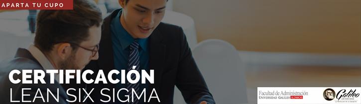 Imagen: Certificación Lean Six Sigma