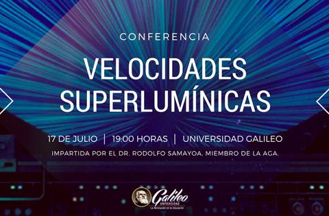 Imagen: Velocidades Superlumínicas