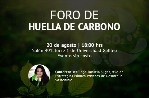 Imagen: Huella de Carbono