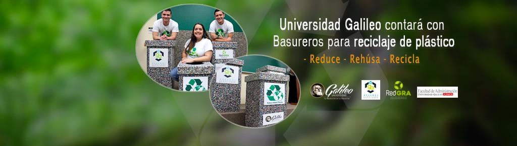 Imagen: Contenedores para reciclaje plástico se utilizarán en el Campus