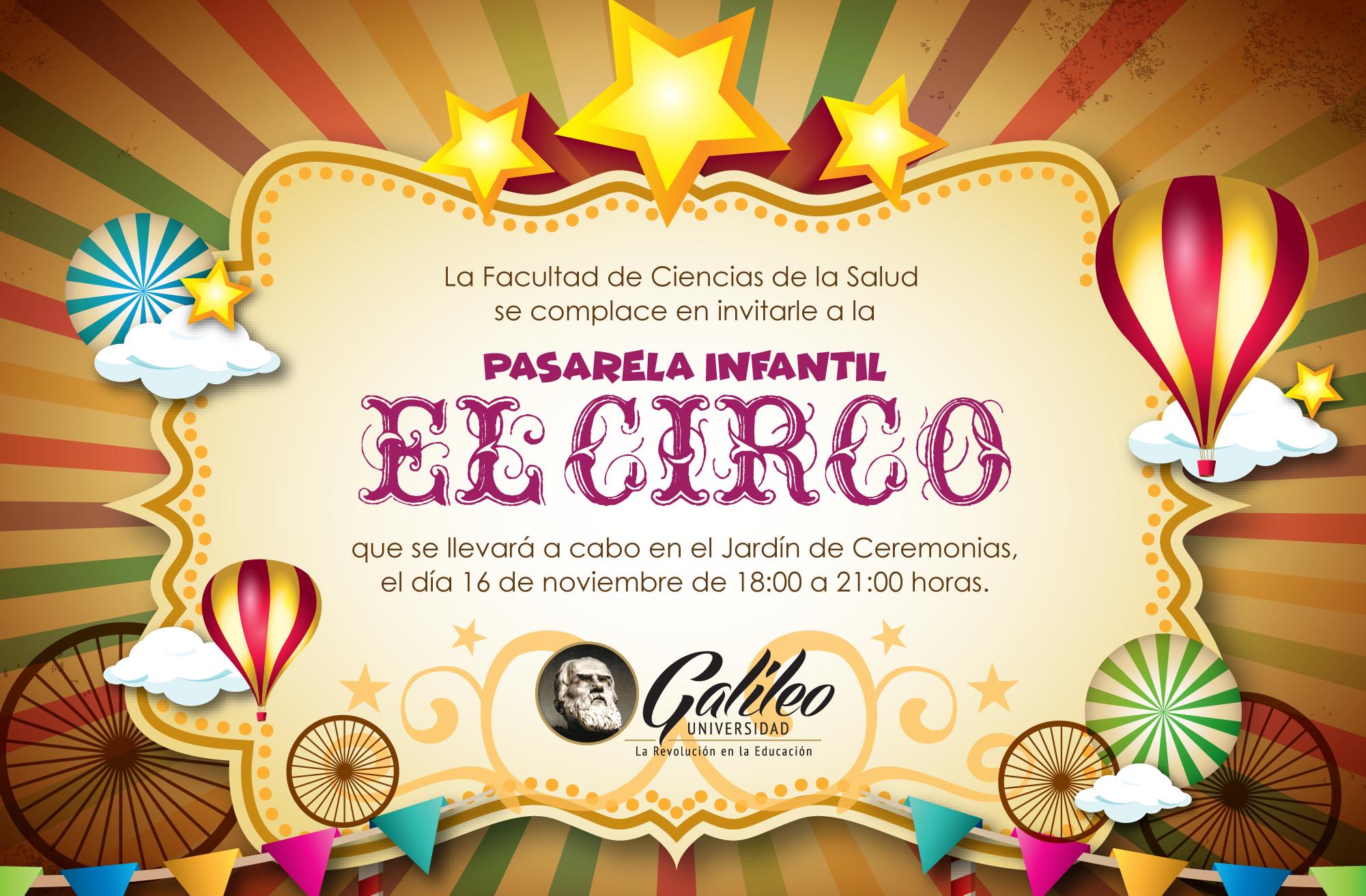 Imagen: Pasarela Infantil El Circo - spot