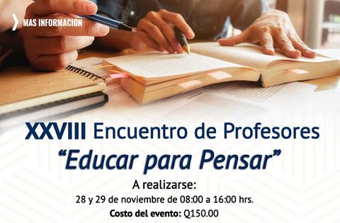 Imagen: XXXVII Encuentro de Profesores