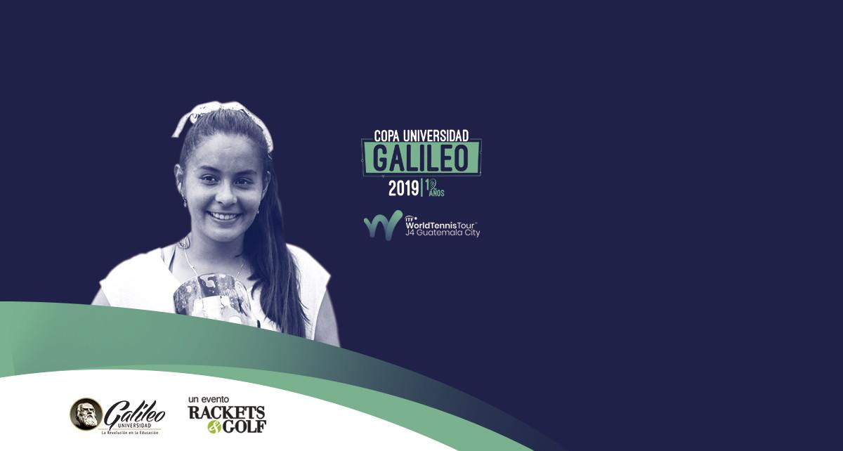 Imagen: Guatemalteca Rut Galindo  campeona de Copa Universidad Galileo