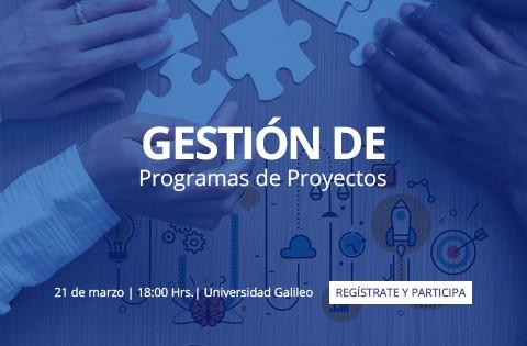 Imagen: Gestión de Programas de Proyectos - spot