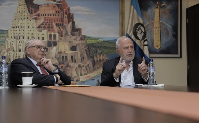 Diego Pulido y Eduardo Suger